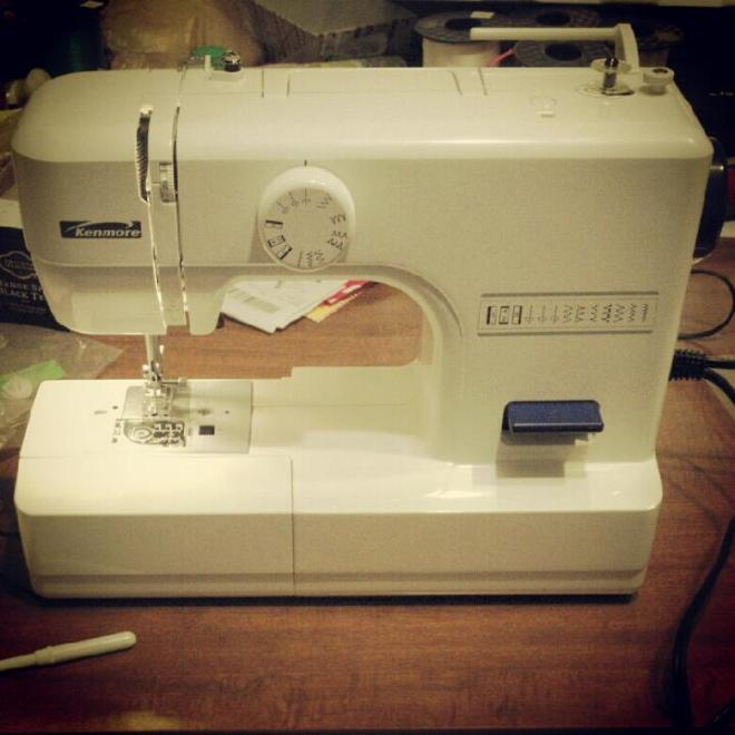 week22 sewing machine