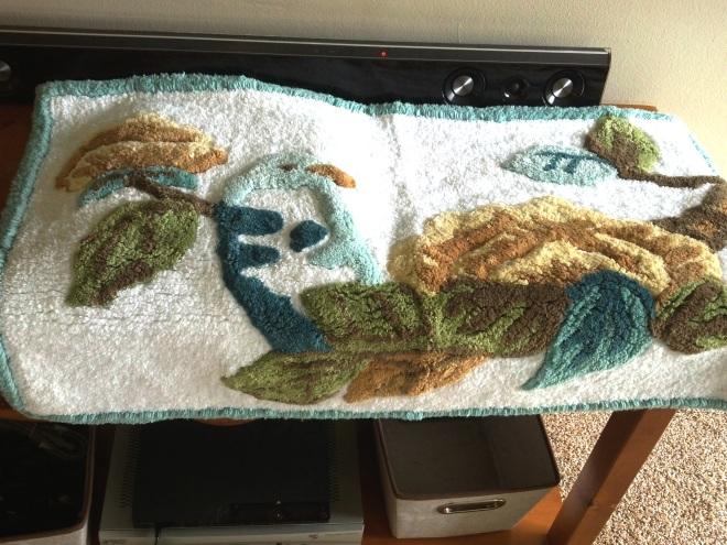 week 6 bath rug