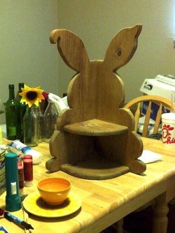 week 7 bunny shelf