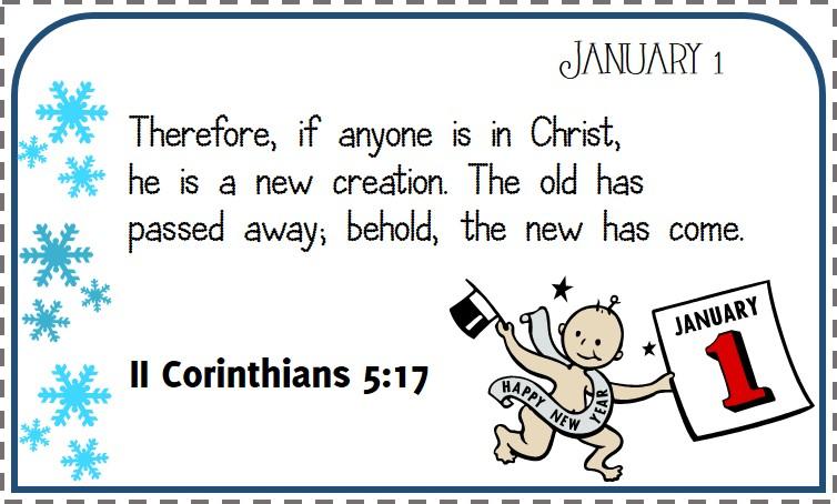 Bible Verse Calendar Xapa To The World