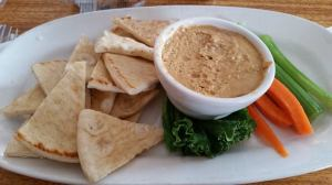 140611 - suttons bay cherry chipotle humus
